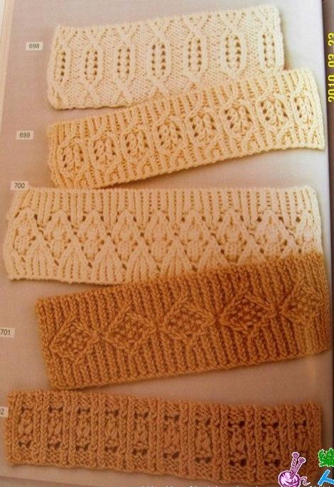 вязание спицами, уроки по вязанию, резинка