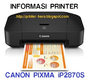 Printer Canon Terbaru Pixma IP2870s