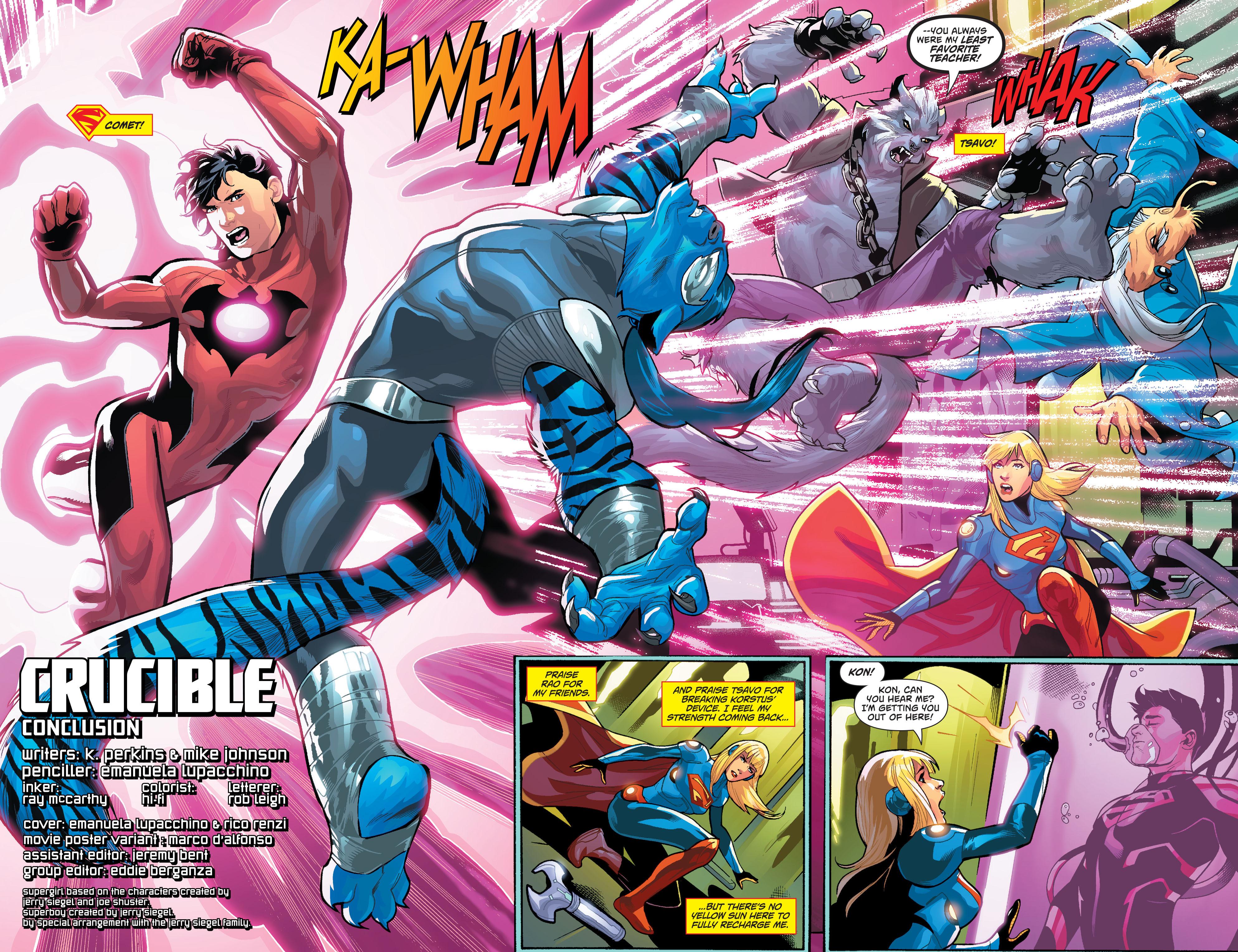 Supergirl (2011) Issue #40 #42 - English 3