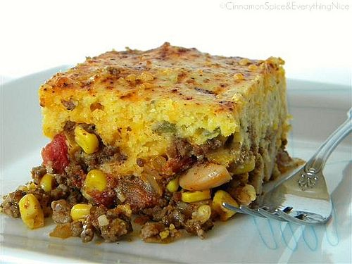 This recipe (found here) for chili cheese cornbread is