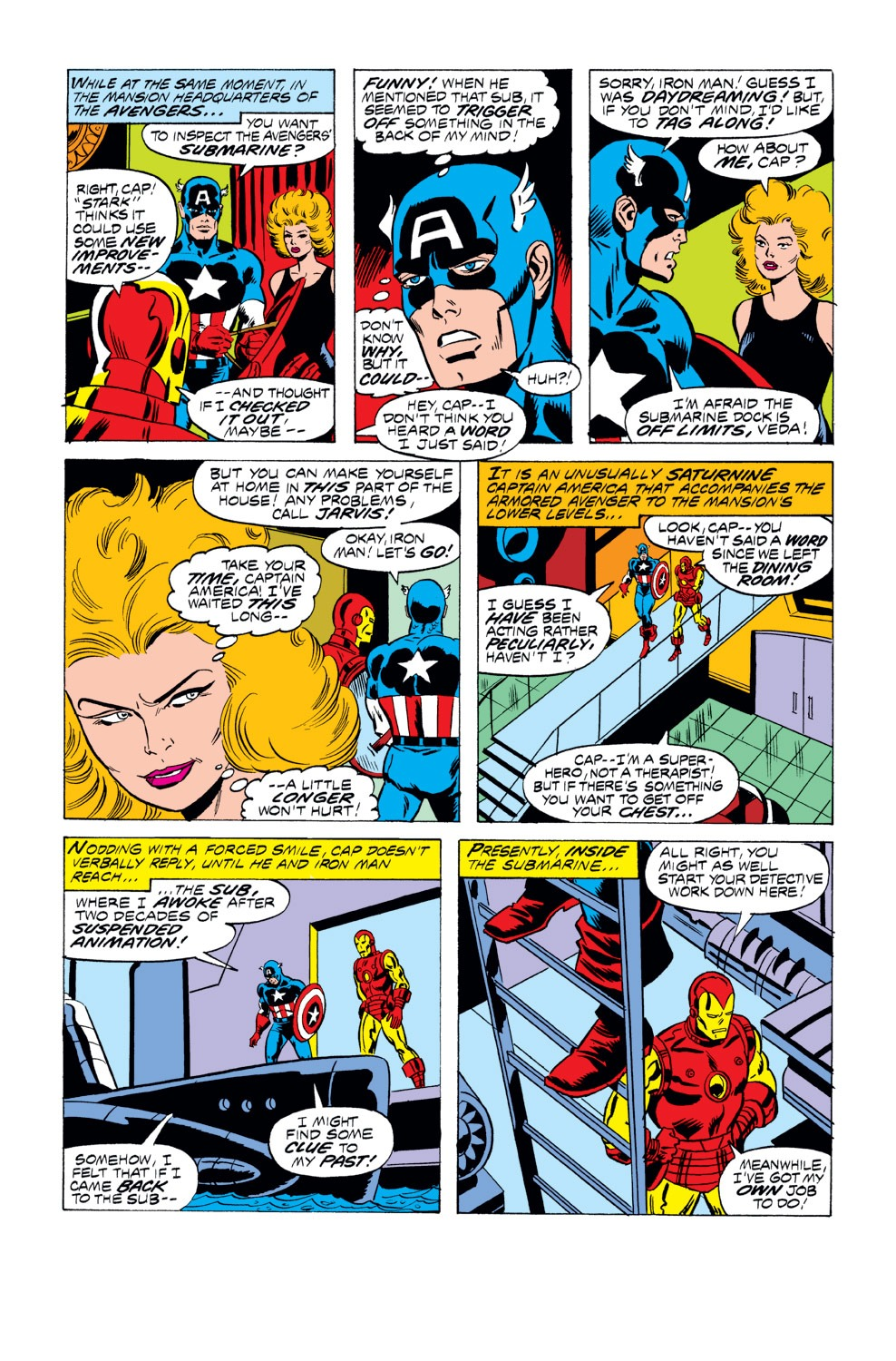 Captain America (1968) Issue #218 #132 - English 8