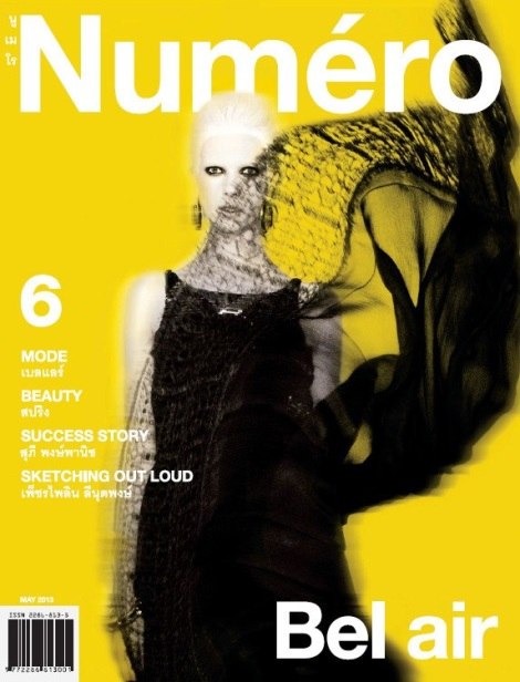 Numéro Thailand May 2013 Cover