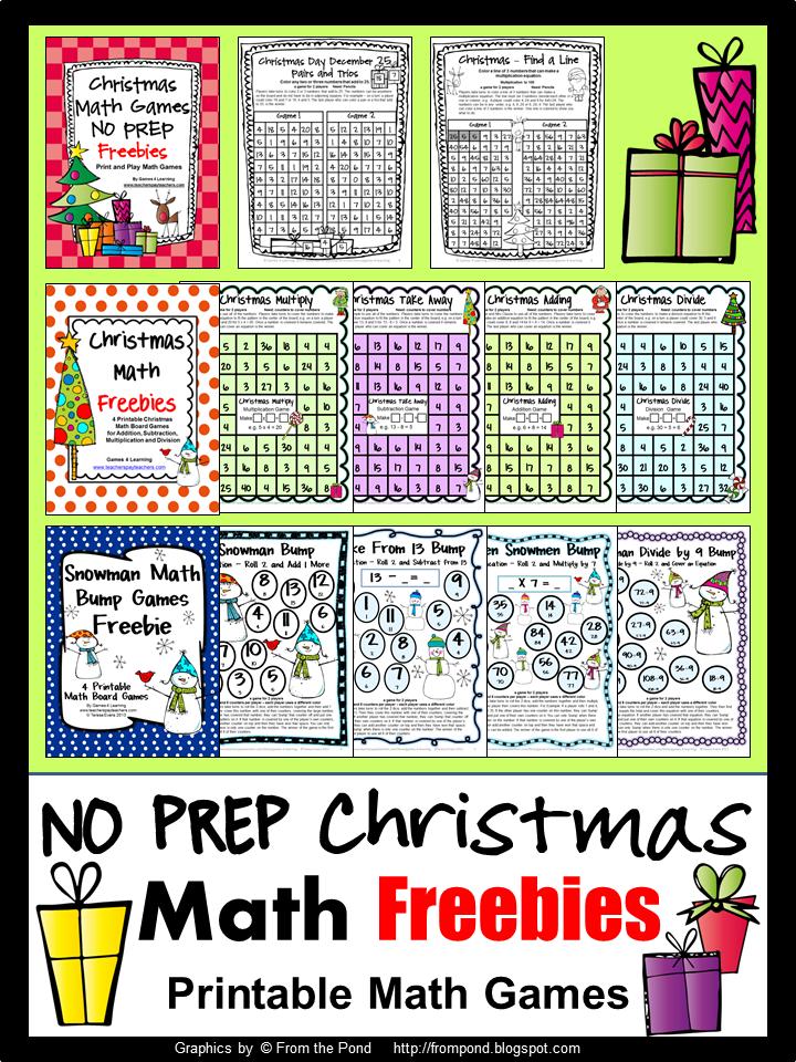 Christmas Maths Year 4 Worksheets