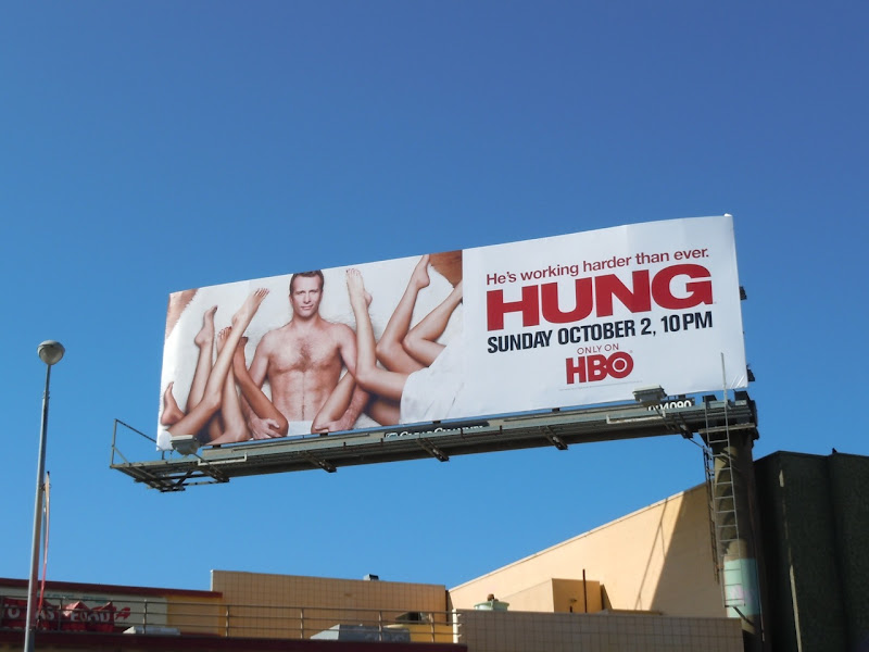 Hung season 3 TV billboard