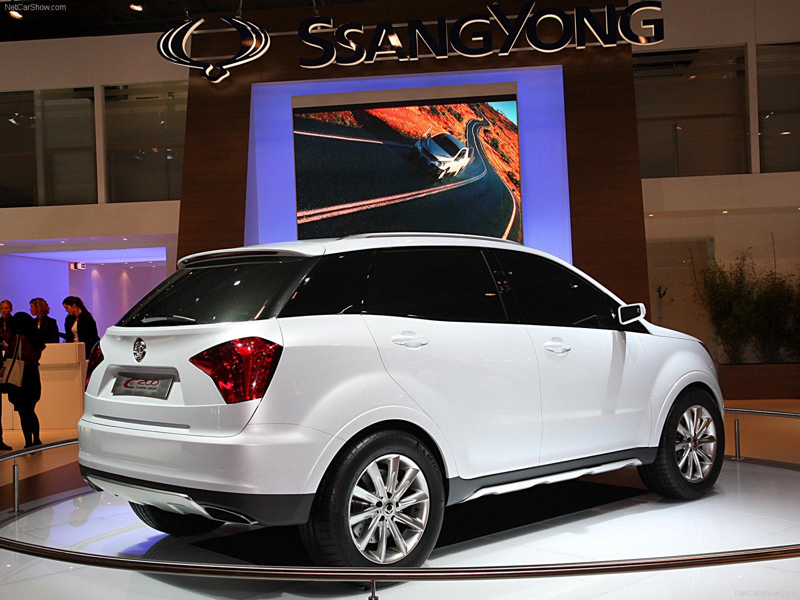 Hình ảnh xe ô tô SsangYong C200 Concept 2008 & nội ngoại thất