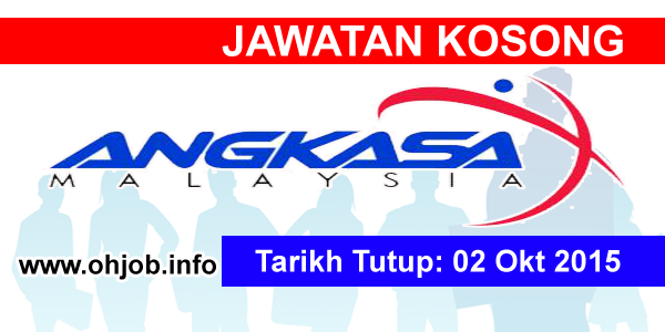 Jawatan Kerja Kosong Agensi Angkasa Negara logo www.ohjob.info oktober 2015