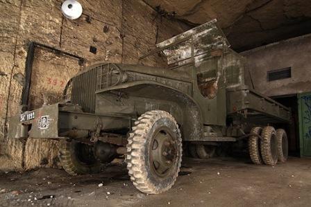 Truk tua militer Perancis
