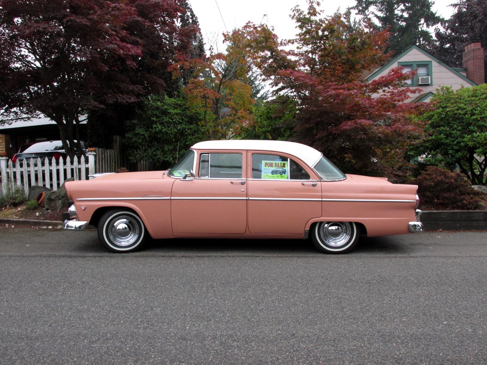 Seattle 39 s classics 1955 ford customline sedan for 1955 ford customline 2 door