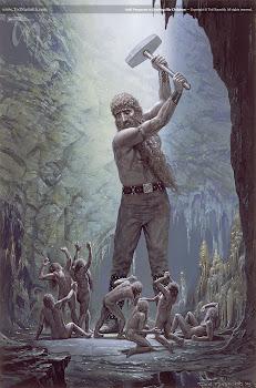 Aulë : Vala. Herrero y maestro de artesanías, marido de Yavanna. Señor de la Tierra.