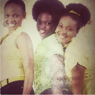 Funke akindele then and Now.