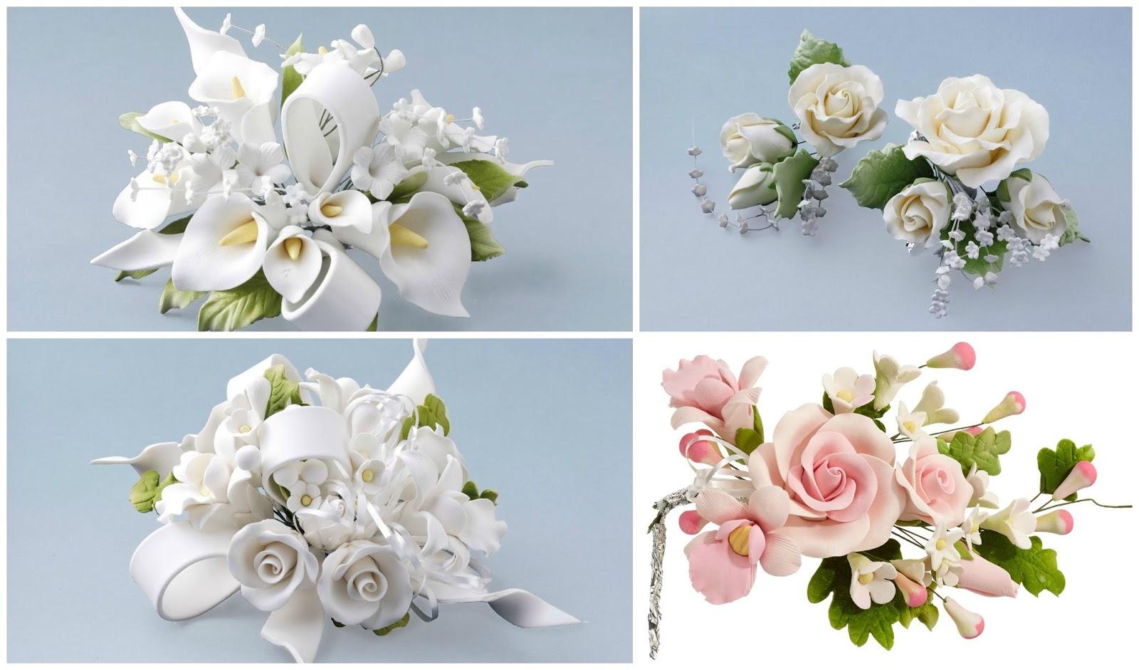 besondere tortendeko blumen kaufen t uschend echt wirkende bouquets aus feinzucker. Black Bedroom Furniture Sets. Home Design Ideas