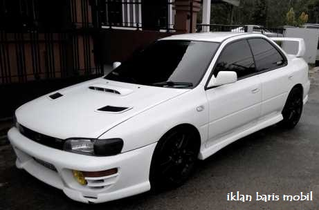 Subaru wrx turbo 1993, iklan baris mobil