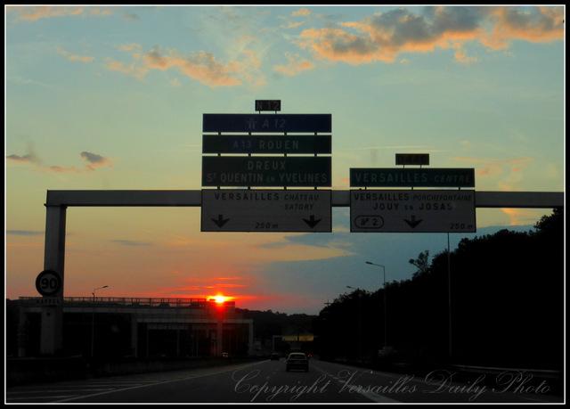 A86 Versailles motorway