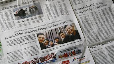 Jawara Kidul Didukung Komposer Film Ayat-Ayat Cinta