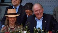 En el tenis, en los toros... Doña Elena, la cómplice del Rey Juan Carlos