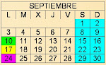 CALENDARIO ESCOLAR 2012/2013