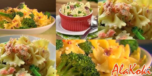 Resep Membuat Farfalle Brokoli Saus Keju
