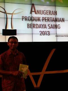Anugerah Produk Pertanian Berdaya Saing 2013