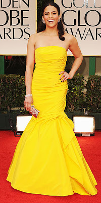 Get Paula Patton Look from 2012 Golden Globes beauty look feature