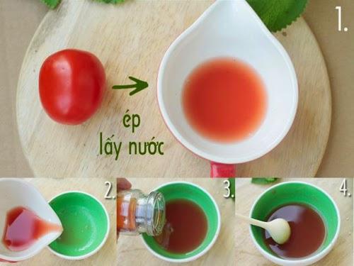nước cốt chanh, dầu dừa, mặt nạ, đắp mặt nạ, làm mặt nạ dưỡng da, làm mặt nạ dưỡng tay, mật nạ mật ong chanh, cà chua, mặt nạ mật ong cà chua