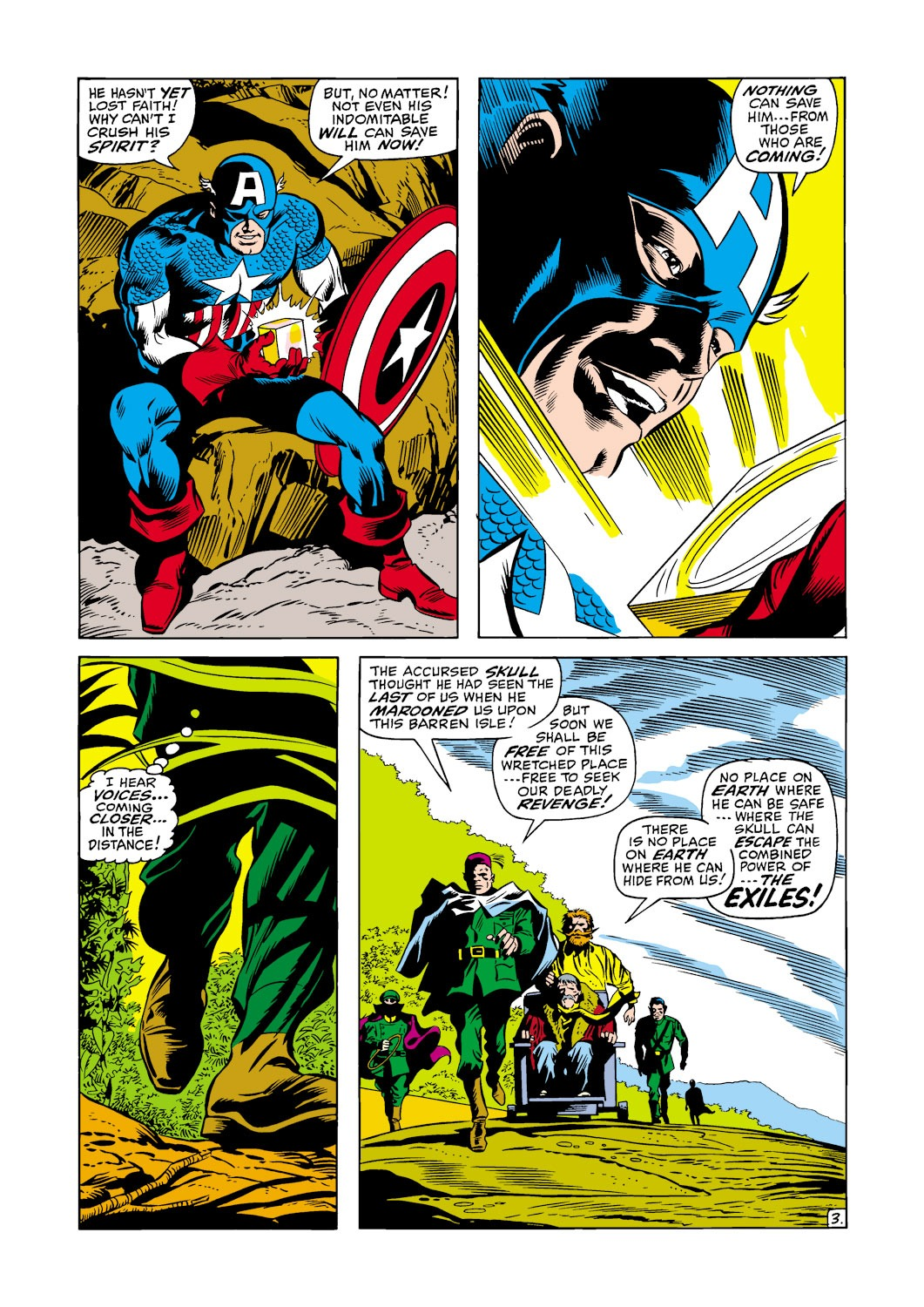 Captain America (1968) Issue #117 #31 - English 4