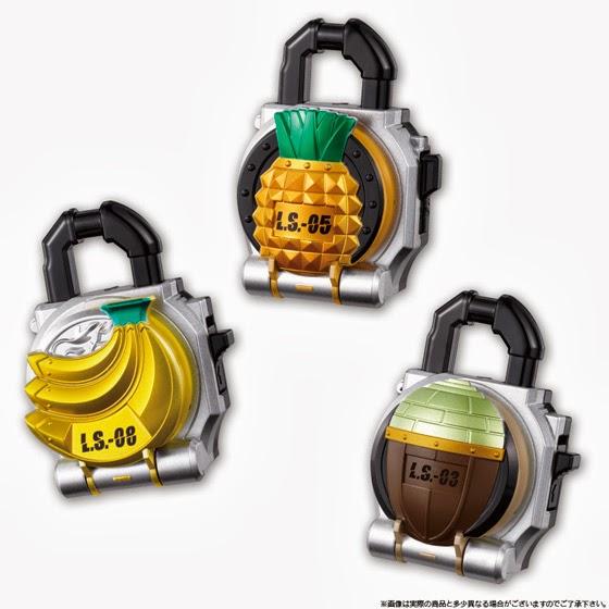 Kamen Rider Gaim - Sound Lock Seed Series SG Lock Seed 1Kamen Rider Gaim Lock Seed Papercraft