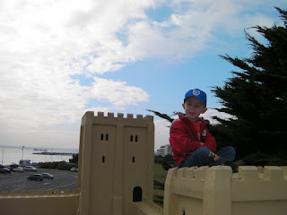 southsea model village castle and south parade pier