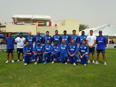 Nazionale Italiana ICC World Cup Qualifier T20 2012 - Dubai (Emirati Arabi Uniti)