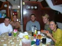 vida a bordo