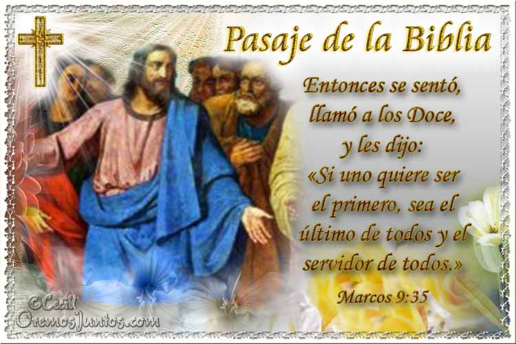 Vidas santas santo evangelio seg 250 n san marcos 9 35
