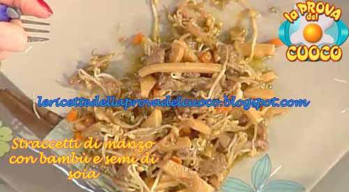 Straccetti di manzo con bamb e semi di soia ricetta di for Semi di bambu
