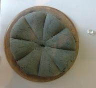 pane pompeiano carbonizzato