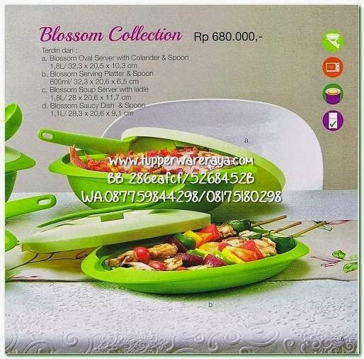 Tupperware Promo April 2015 Blossom Collection