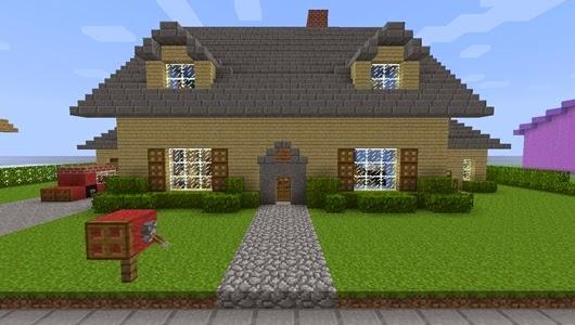 Ivan888 dise o de casas minecraft Disenos de casas minecraft