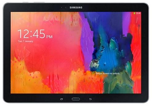 Gambar Samsung Galaxy Note Pro 12.2 Bagian Depan