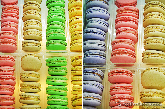 Foodie from the Metro - Chez Karine Bakery Macarons