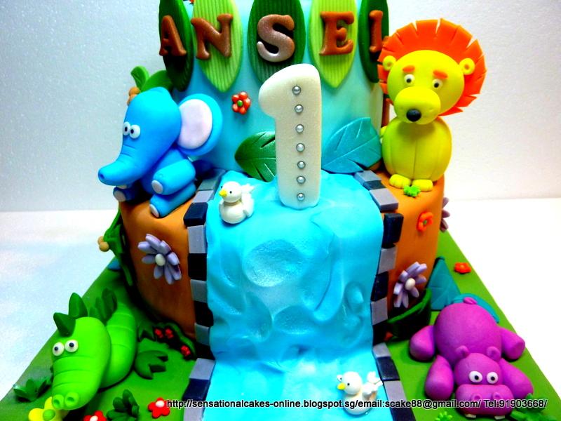 Birthday Cakes Jungle Theme ~ The sensational cakes safari theme cake jungle theme cake
