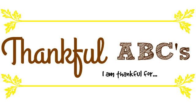 Thankful ABC's printable, Thanksgiving activities for kids, Thanksgiving printables, I am thankful for printable, Thankful ABC's worksheet, Thankful ABC's