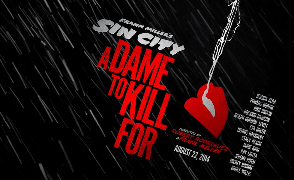 Sin City A Dame to Kill For Movie