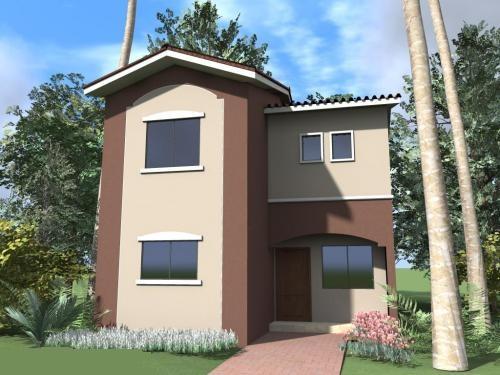 Mi casa mi hogar fachadas casas peque as Estilos de fachadas para casas pequenas