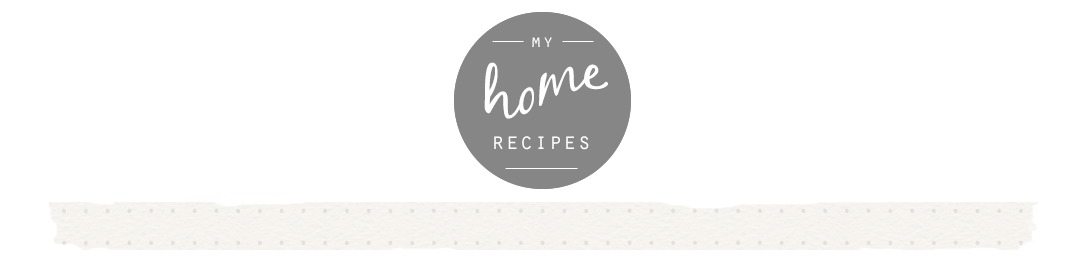 My HomeRecipes
