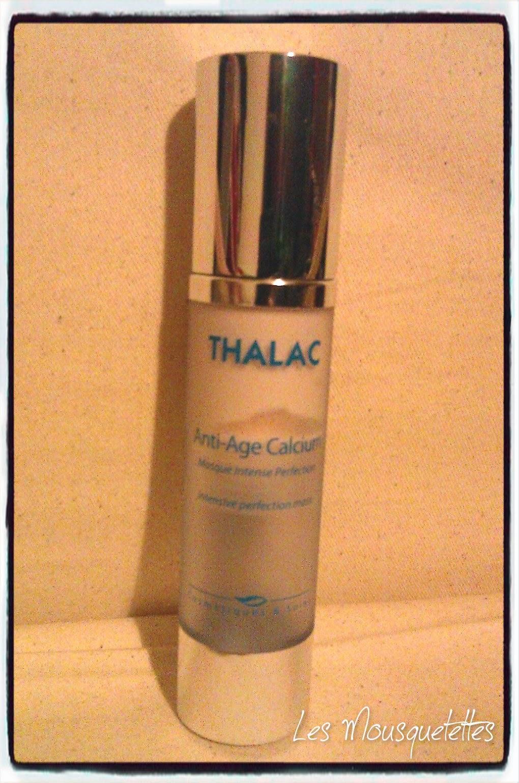 Masque anti-âge calcium Thalac - Les Mousquetettes©