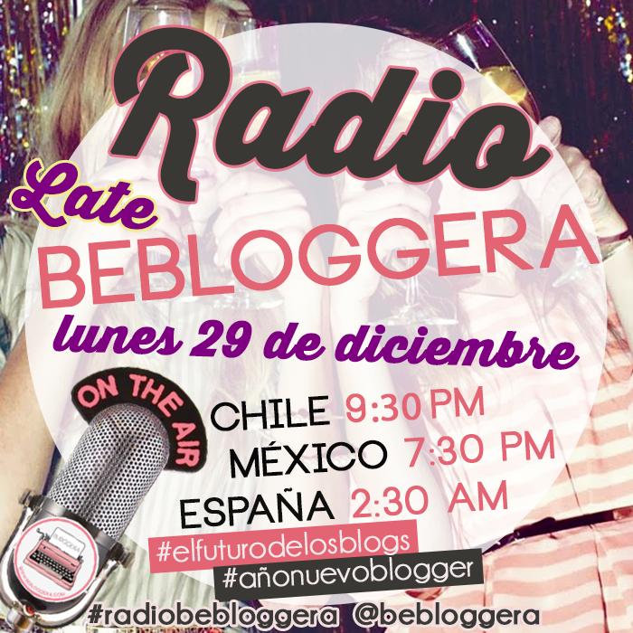 #Radiobebloggera: Evaluación de fin de año blogger #elfuturodelosblogs