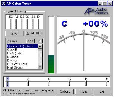 Audio Phonics Guitar Tuner for Perfect Tunings! ~ GUITARESOURES
