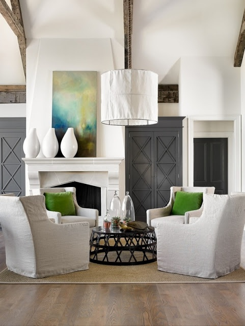 Abby Manchesky Interiors: considering the four chair layout ...