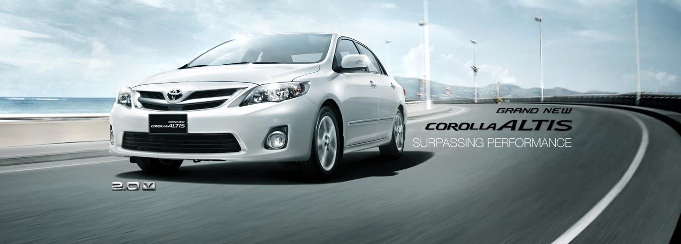 Grand New Corolla 2.0 V