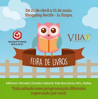 Contação de história na Vila 7 shopping Recife