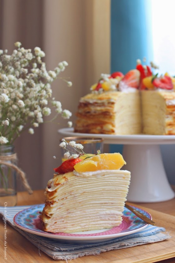 how to make vanilla custard filling for cakes