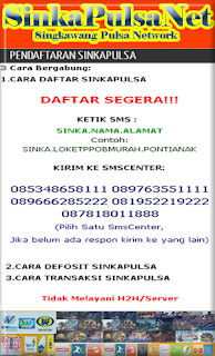 Pulsa Murah 2016,Mitra distribusi Pulsa,Banjarmasin,Bandung,Batujajar,pulsa kalimantan,pulsa murah kalimantan