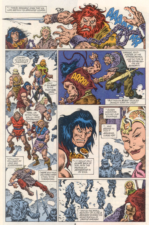 Conan the Barbarian (1970) Issue #254 #266 - English 6